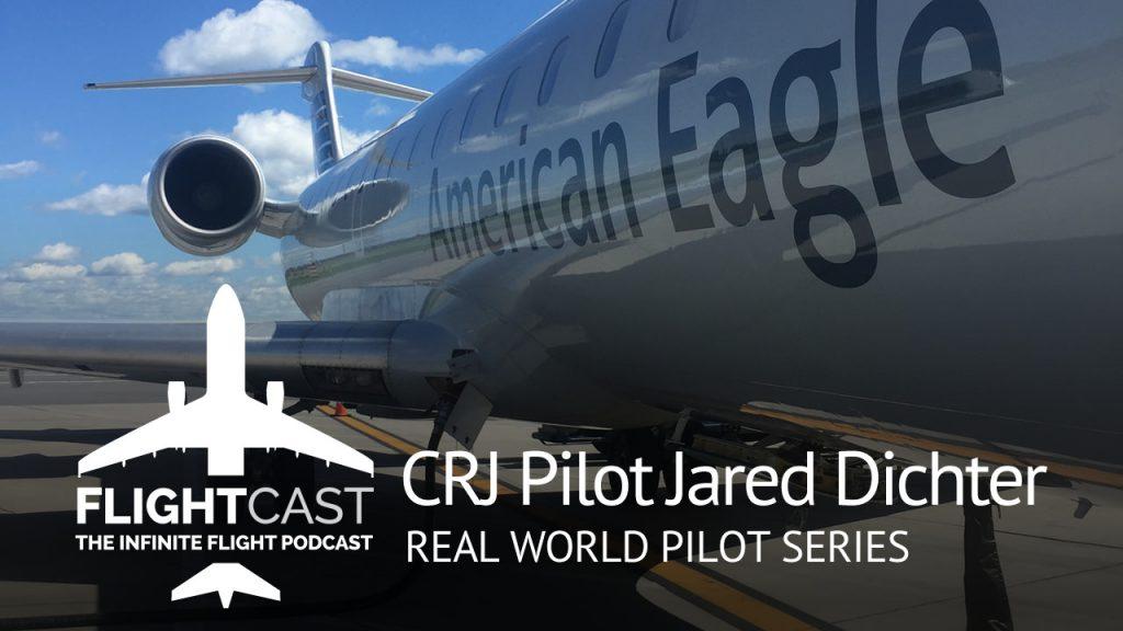 CRJ Pilot Jared Dichter