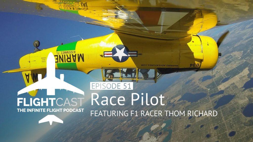 Race Pilot Thom Richard