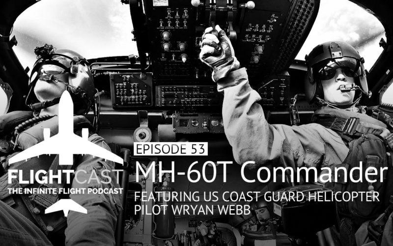 MH-60T Commander Wryan Webb